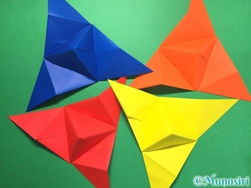 折り紙でくす玉の作り方手順31