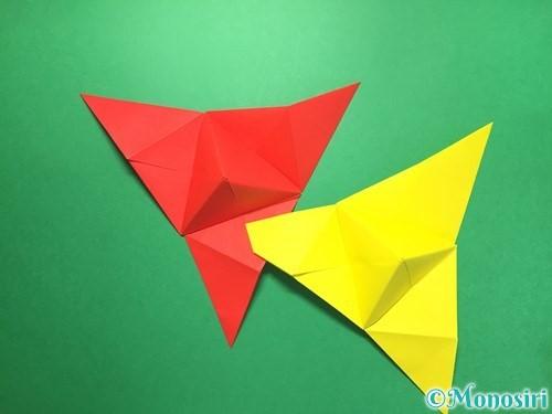 折り紙でくす玉の作り方手順33