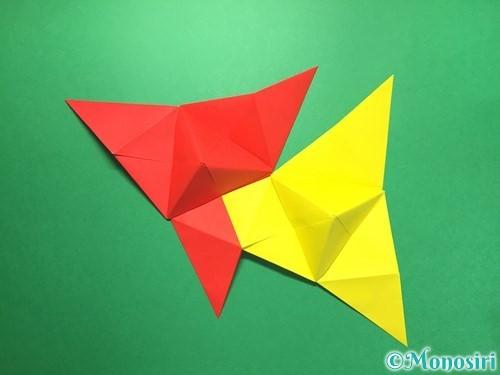 折り紙でくす玉の作り方手順34
