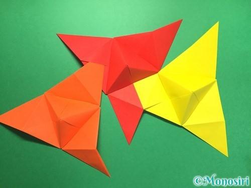 折り紙でくす玉の作り方手順36