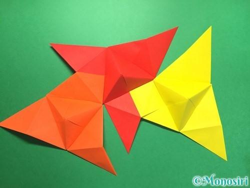 折り紙でくす玉の作り方手順37