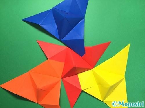 折り紙でくす玉の作り方手順39