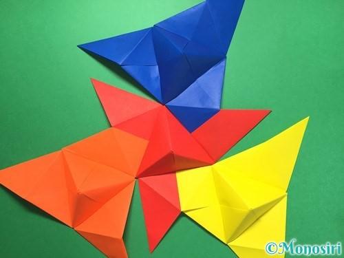 折り紙でくす玉の作り方手順40