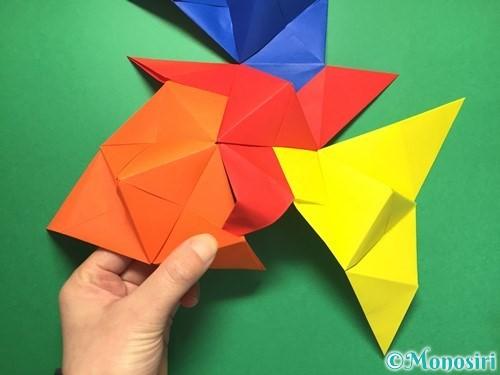 折り紙でくす玉の作り方手順42