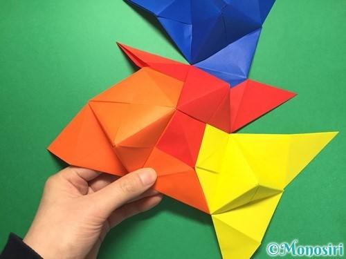 折り紙でくす玉の作り方手順43