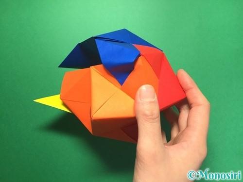折り紙でくす玉の作り方手順58