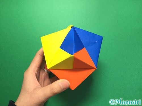 折り紙でくす玉の作り方手順64