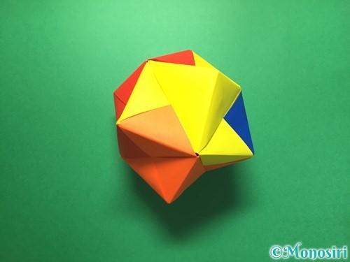 折り紙でくす玉の作り方手順65