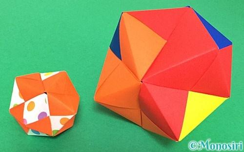 折り紙で作ったくす玉