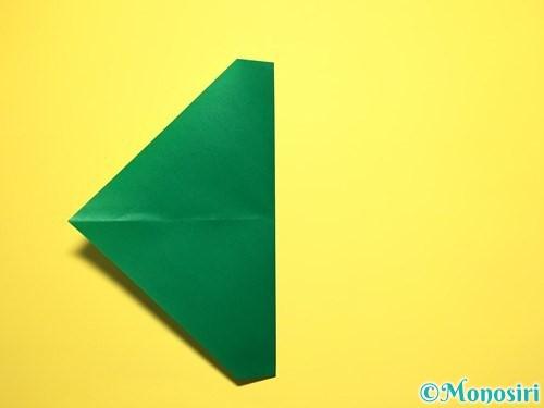 折り紙でスイカの折り方手順11