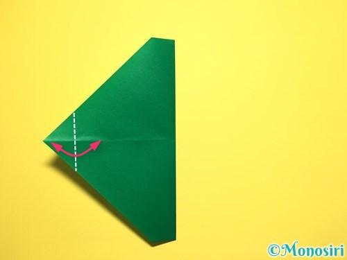 折り紙でスイカの折り方手順12