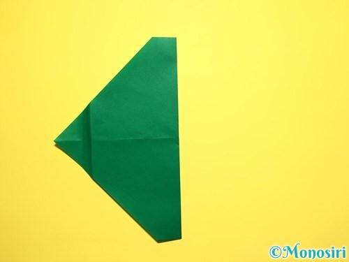折り紙でスイカの折り方手順13