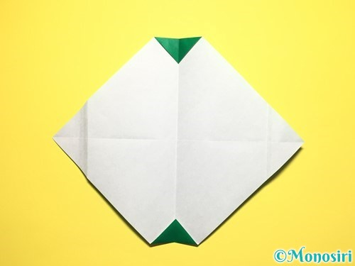 折り紙でスイカの折り方手順14