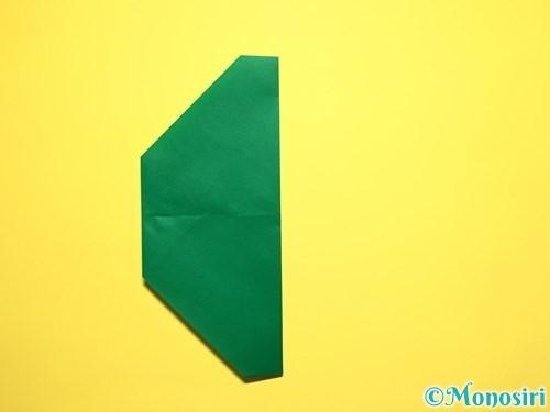 折り紙でスイカの折り方手順18