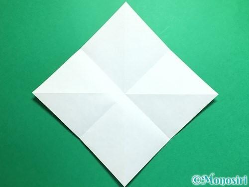折り紙で鶴の折り方手順5