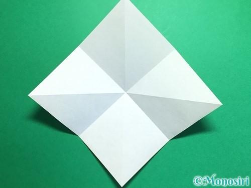 折り紙で鶴の折り方手順6
