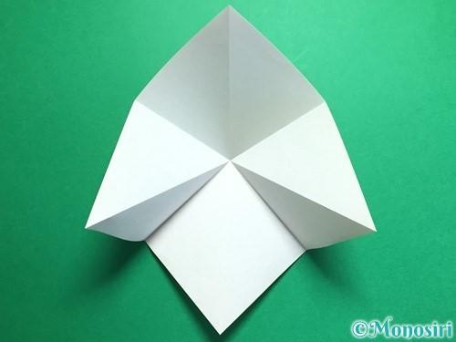 折り紙で鶴の折り方手順7