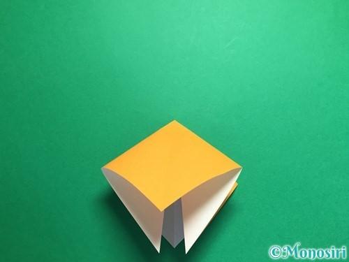 折り紙で鶴の折り方手順8