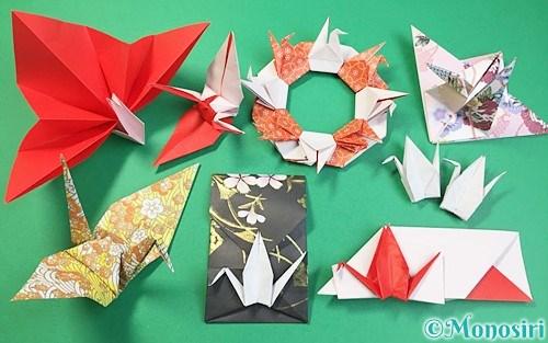 折り紙で折った鶴