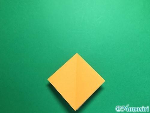 折り紙で鶴の折り方手順9