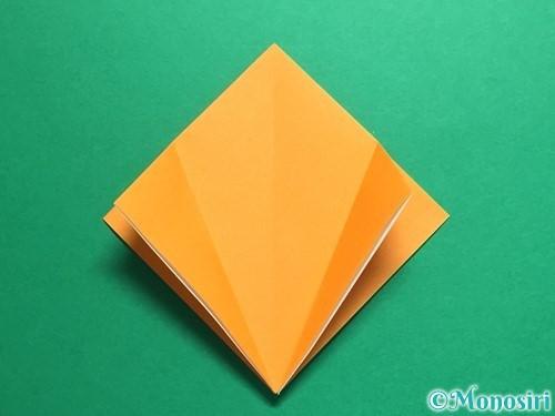 折り紙で鶴の折り方手順11