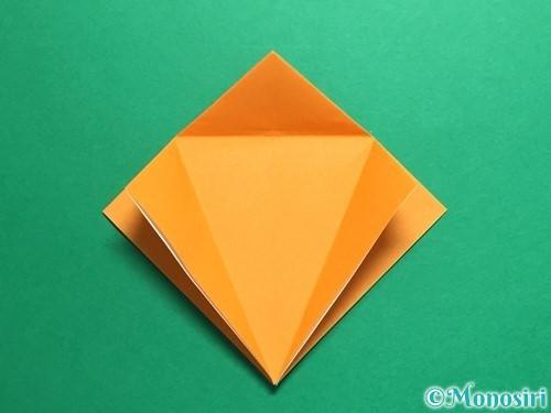 折り紙で鶴の折り方手順13