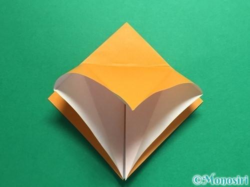 折り紙で鶴の折り方手順14