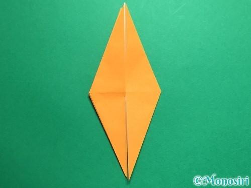 折り紙で鶴の折り方手順17