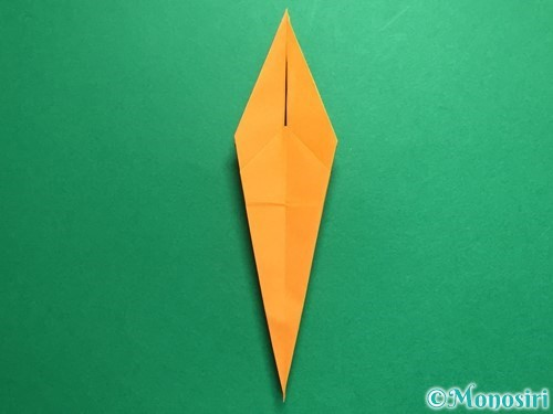 折り紙で鶴の折り方手順23