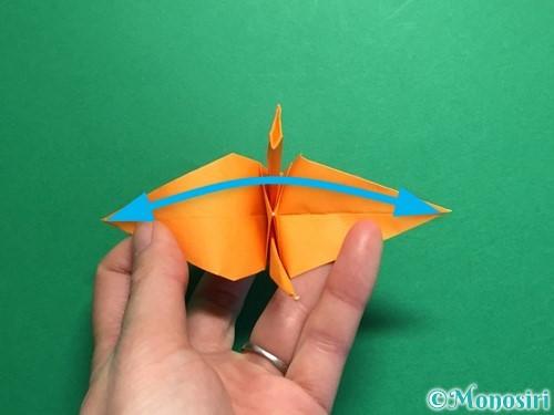 折り紙で鶴の折り方手順33