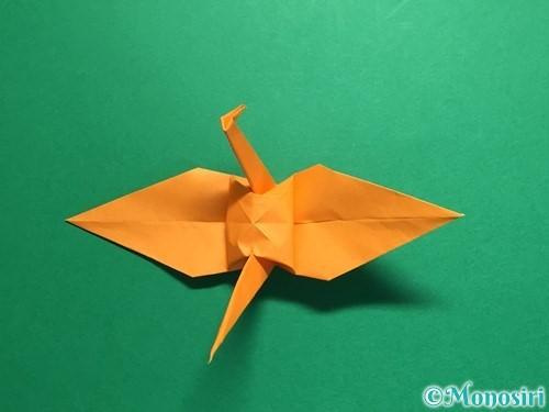 折り紙で鶴の折り方手順34