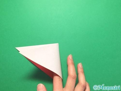 折り紙で祝い鶴の折り方手順5