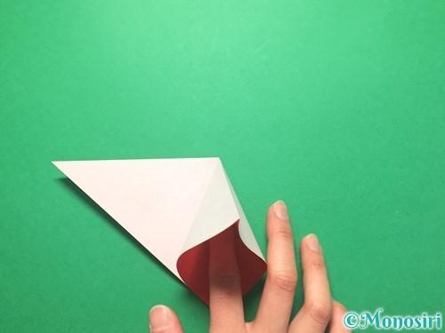 折り紙で祝い鶴の折り方手順6