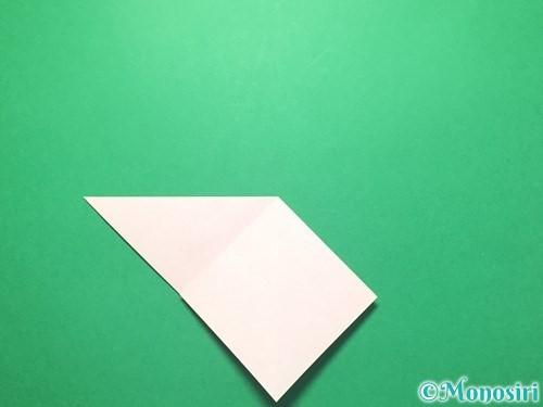折り紙で祝い鶴の折り方手順8