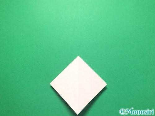 折り紙で祝い鶴の折り方手順9