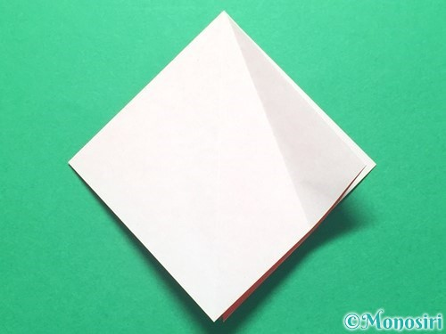 折り紙で祝い鶴の折り方手順11
