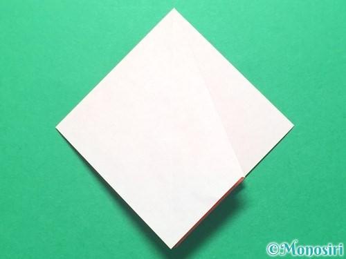 折り紙で祝い鶴の折り方手順16