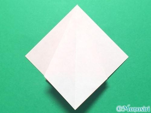 折り紙で祝い鶴の折り方手順17