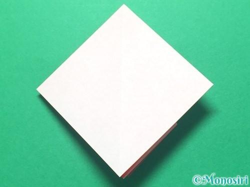 折り紙で祝い鶴の折り方手順18