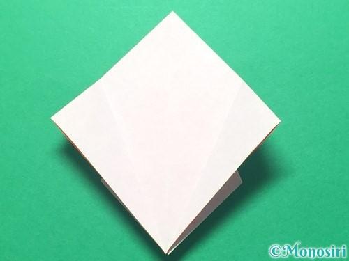 折り紙で祝い鶴の折り方手順20