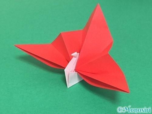 折り紙で祝い鶴の折り方手順51