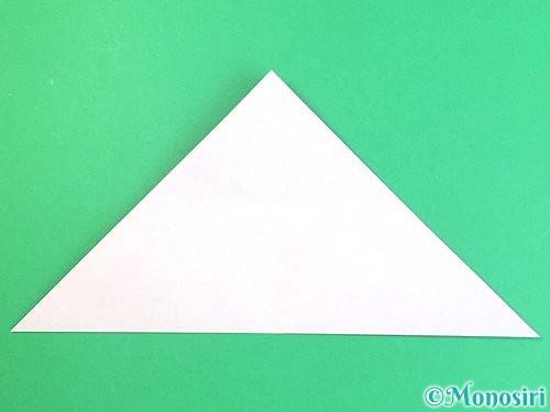 折り紙で立体的なハイビスカスの折り方手順7