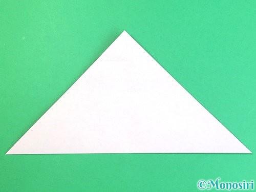 折り紙で立体的なハイビスカスの折り方手順9