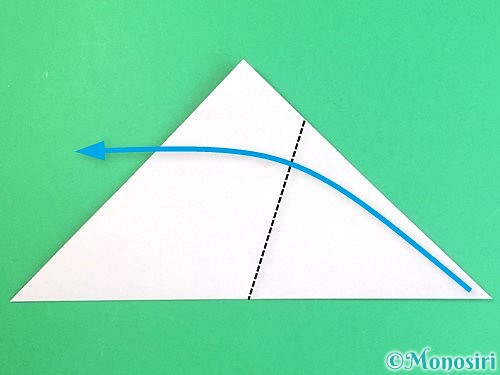 折り紙で立体的なハイビスカスの折り方手順10