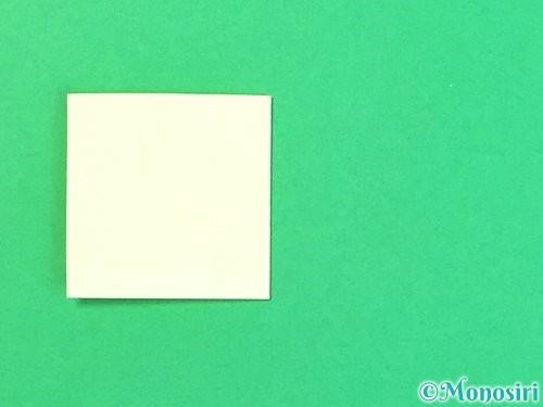 折り紙で立体的なハイビスカスの折り方手順51