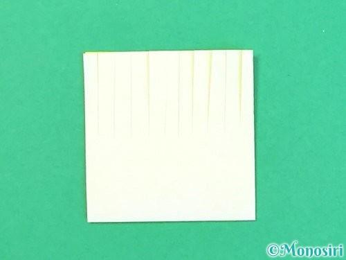 折り紙で立体的なハイビスカスの折り方手順53