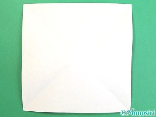 折り紙で水仙の立体的な折り方手順2