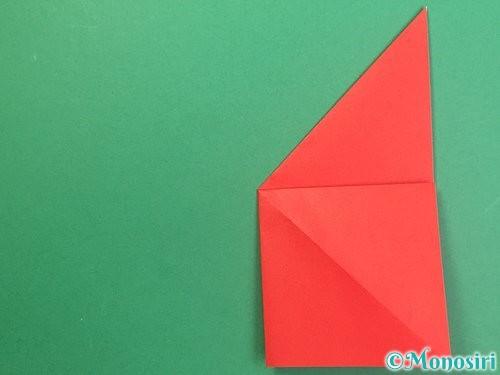 折り紙でりんごの折り方手順12