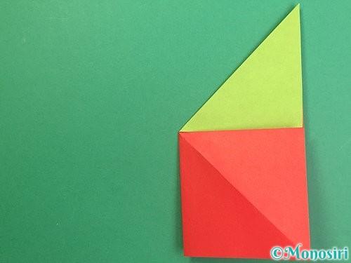 折り紙でりんごの折り方手順14