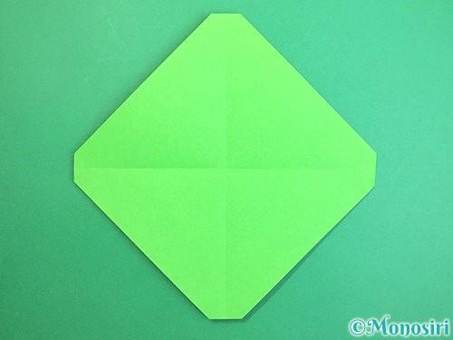 折り紙でみかんの折り方手順6